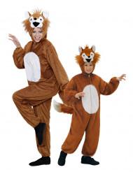 Costume volpe per coppia madre e figlia