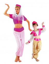 Costume di coppia ballerine orientali madre e figlia
