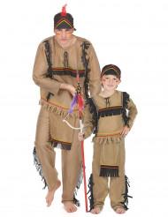 Costume coppia indiani padre e figlio