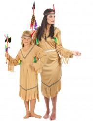 Costume coppia indiane madre e figlia
