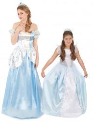 Costume coppia principessa mamma e figlia