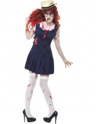 Costume zombie scolara Halloween