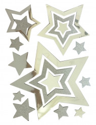 Adesivi a stelle per Natale