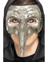 Maschera veneziana con naso lungo
