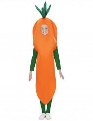 Costume carota bambino