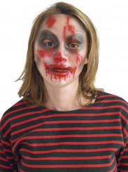 Maschera trasparente halloween donna