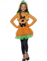 Costume zucca tutù bambina Halloween