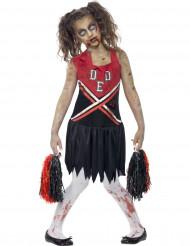 Costume zombie pom pom bambina Halloween