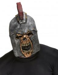 Maschera integrale scheletro soldato romano Halloween