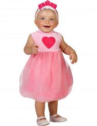 Costume principessa rosa neonato