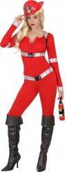 Costume pompiere sexy adulto