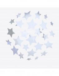 Adesivi palla stroboscopica con stelle argentate