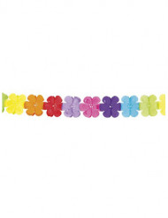 Ghirlanda fiorita multicolore 4 metri