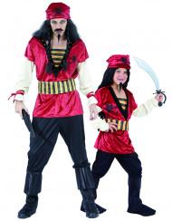 Costume pirata padre e figlio