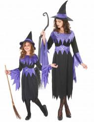 Costume coppia di streghe madre e figlia