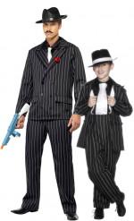 Costume gangster padre figlio