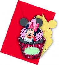 6 Cartoncini d'invito Minnie™