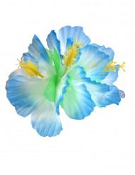 Fermaglio fiori blu Hawai