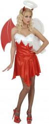 Costume angelo e demone donna Halloween