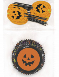 Kit decorazione per cupcakes di Halloween