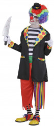 Costume clown assassino uomo Halloween