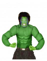 Maglia muscolosa verde bambino
