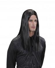 Parrucca vampiro nero adulto halloween