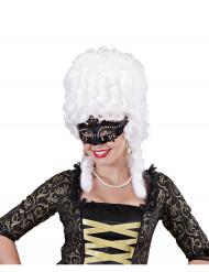 Maschera Veneziana brillantini per adulto