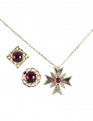 Confezione gioielli finti per adulto