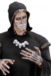 Collana teschi adulto halloween