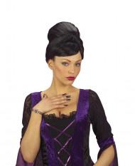 Image of Unghie finte da strega nere adulto Halloween