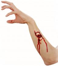 Finta piaga frattura adulto Halloween