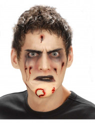 Finto mento zombie adulto Halloween