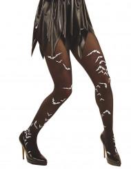 Calze con pipistrelli da adulto per Halloween