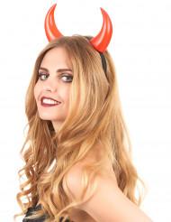 Image of Corna rosse adulto Halloween
