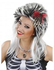 Fermaglio per capelli mano di scheletro per Halloween