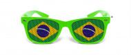 Occhiali da sole umoristici bandiera Brasile