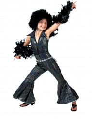 Costume da regina della discoteca per bambina