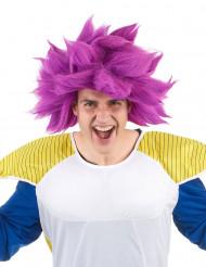 Parrucca manga viola donna