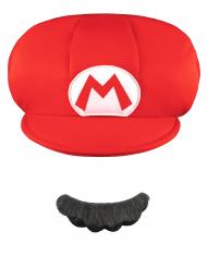 Cappello e Baffi Mario™ bambino