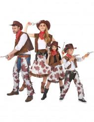 Costumi famiglia cowboy