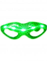 Occhiali luminosi verdi tela di ragno