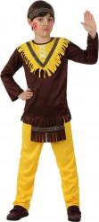 Costume indiano in giallo bambino