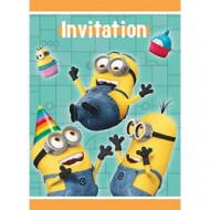 8 inviti e buste Cattivissimo Me™