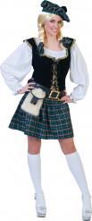 Costume da scozzese da donna