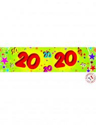Banner di carta 20 anni