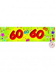 Banner di carta 60 anni
