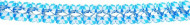 Ghirlanda bianca e blu Bavarese
