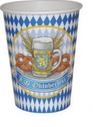 Confezione di 8 bicchieri per l'Oktoberfest