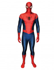 Costume seconda pelle Morphsuits™Spiderman™ edizione limitata adulto